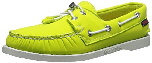 Sebago Mujeres Npn Dockside Penny Loafer Verde Brillante Neopreno