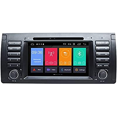 ZLTOOPAI Inch Android 9 0 Car Radio for BMW E39 E38 Series Car Stereo GPS Navigation Car GPS Media Player Support Screen Mirror WiFi OBD2 Steering Wheel Control Car DVD Player