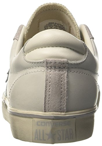 Mouse Converse Leather Bianco Sneaker PRO Vulc White Collo Ox Turtledove Uomo a Basso PPf4w