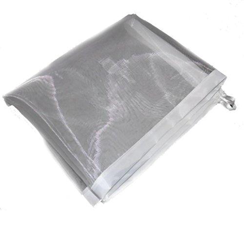 UMFun Magic Gate Portable Folding Safety Guard For Pets Dog Cat Isolated Gauze Net (White)