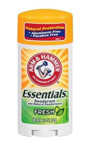Arm & Hammer natural protection Deodorant with Natural Deodorizers Fresh 2.5 oz.(1pack)