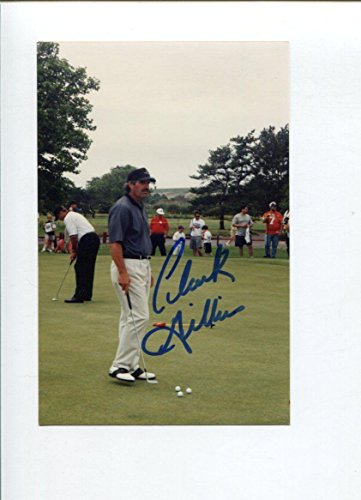 Clark Gillies Autographed Picture - NY Buffalo Sabres HOF - Autographed NHL Photos (Buffalo Photo Nhl Signed Sabres)