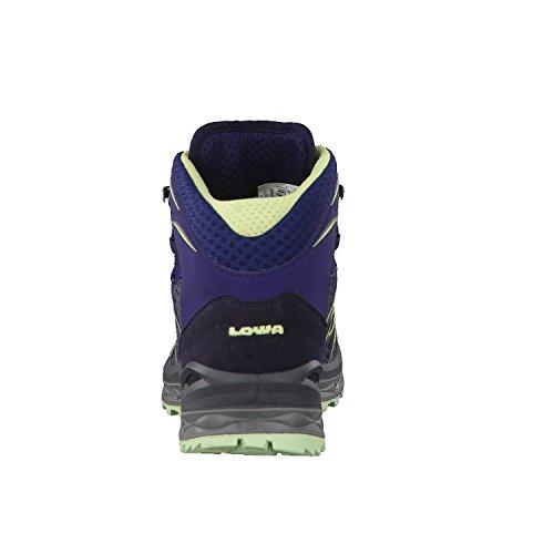 Lowa Damen Aerox GTX Mid W Trekking-& Wanderstiefel Blau (Navy/mint 6908)