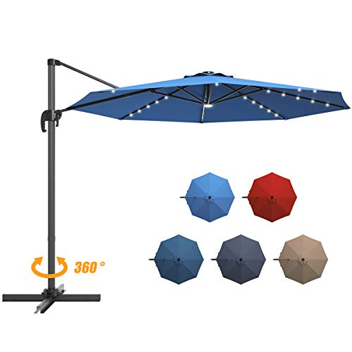 Giantex 10Ftfset Umbrella 360-Degree