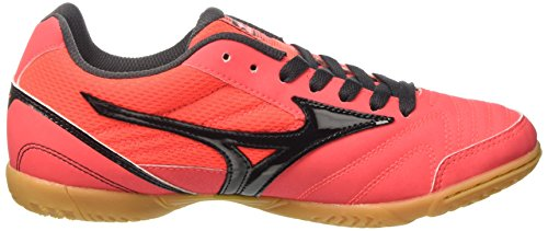 Black Football Fierycoral in Mizuno Sala Multicolore de Homme Club Chaussures aZA1fq