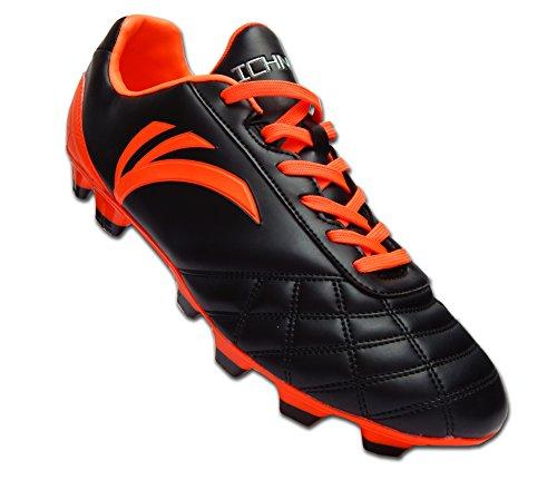 Ferme Orange Rapido Crampons Football Taille Noir Sol Moulés De Adulte Chaussures Ichnos wAOnWE0w