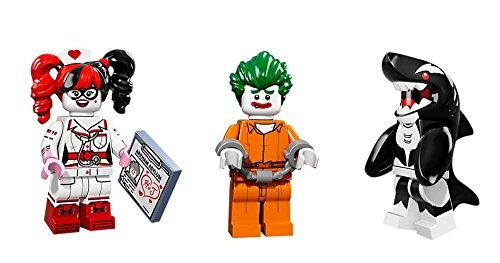 Lego Harley Quinn, Joker, Orca Minifigures Lego Minifigures