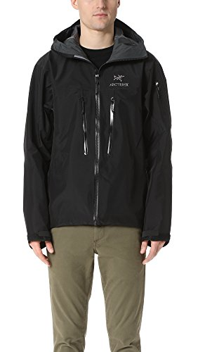 Arc'teryx Men's Alpha SV Jacket, Black, Medium