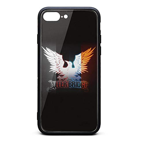 Beautiful Semi-Opaque PC Back with TPU Bumper Shockproof Protective Cushion Basic Phone Case Compatible with iPhone 8 Plus