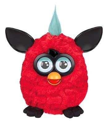 Furby Plush, Red/Black by Furby