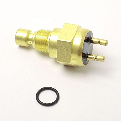 Yiwa Interruptor de la temperatura del sensor del ventilador de la motocicleta para Kawasaki Mojave 250 KSF250 1989-2000