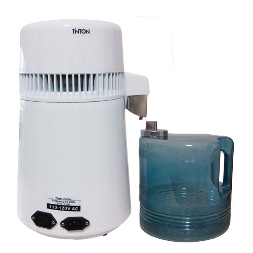 Portable Water Distiller ~ White portable water distiller home and lab pure all