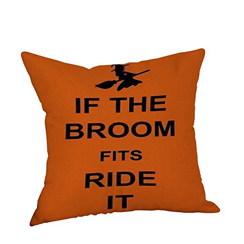 Teresamoon Halloween Pumpkin ghosts Cushion Cover (Halloween Pumpkin F Off)