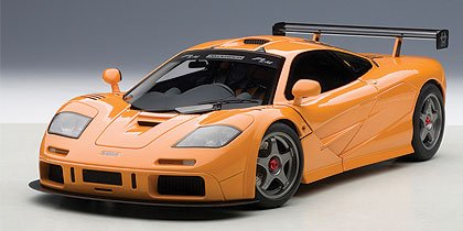 Amazon.com: Mclaren F1 LM Edition Historic Orange 1/18 By Autoart 76011:  AutoArt: Toys U0026 Games