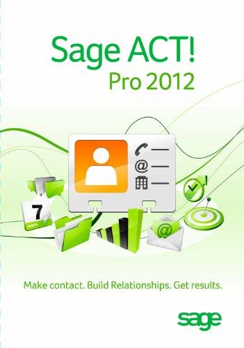 Sage Software ACT Pro 2012