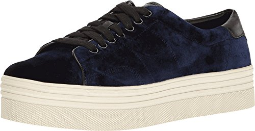 Marc Fisher Frauen EMMY6 Samt Fashion Sneaker BLUE MULTI FABRIC velvet