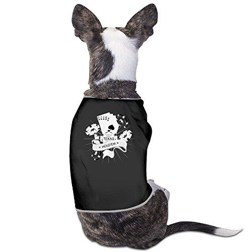Beautiful Art Texas Hold'em Poker Dog Carriers Black
