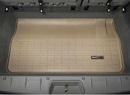 2008-2013 Chrysler Town & Country WeatherTech Cargo Liner (Tan) (Country Weathertech Cargo Liner)