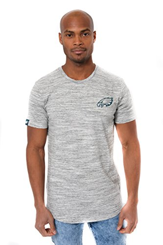 (NFL Philadelphia Eagles Men's T-Shirt Active Basic Space Dye Tee Shirt, X-Large, Gray)