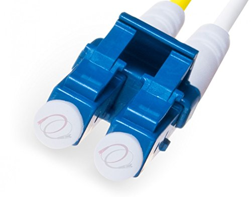 FiberCablesDirect - 100M OS2 LC LC Fiber Patch Cable | Indoor/Outdoor Duplex 9/125 LC to LC Singlemode Jumper 100 Meter (328ft) | Length Options: 0.5M-300M | Made in USA | lc-lc smf i/o Single-Mode by FiberCablesDirect (Image #2)