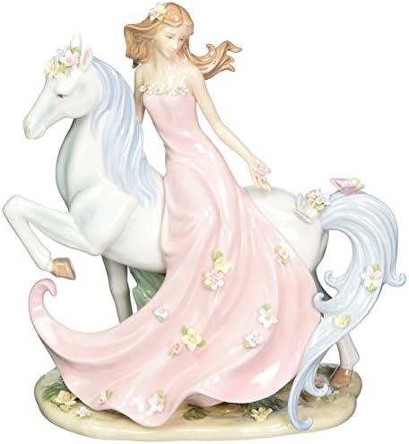 Cosmos 96645 Enchanting Damsel Ceramic Figurine, 11-3 4-Inch