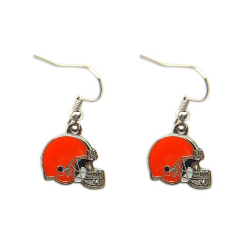 Cleveland Browns Football Dangle Logo Earrings Set Charm Gift NFL (Costume Stores Cleveland)