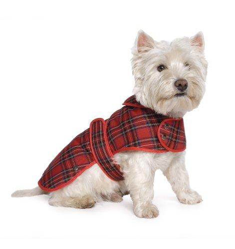 West Highland Blanket (Ancol Highland Tartan Dog Coat, M)