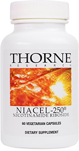 Thorne Research   Niacel 250   Nicotinamide Riboside Supplement With Chromadexs Niagen   60 Capsules