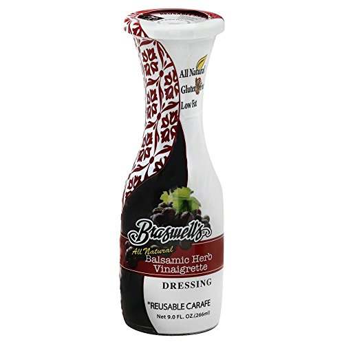 Braswell Carafe Dressing, Balsamic Herb, All Natural 9 ()