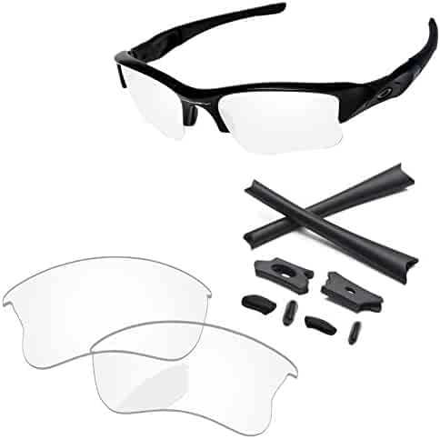 0d66e37cd55 PapaViva Replacement Lenses   Rubber Kits for Oakley Flak Jacket XLJ