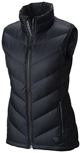 Mountain Hardwear Ratio Down Vest - Women's Black Medium (Mountain Vest Womens Hardwear)