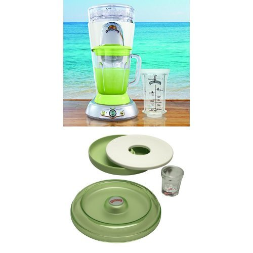 Margaritaville Bahamas Frozen Concoction Maker and AD2000 Salt Rimmer and Lime Serving Set Bundle
