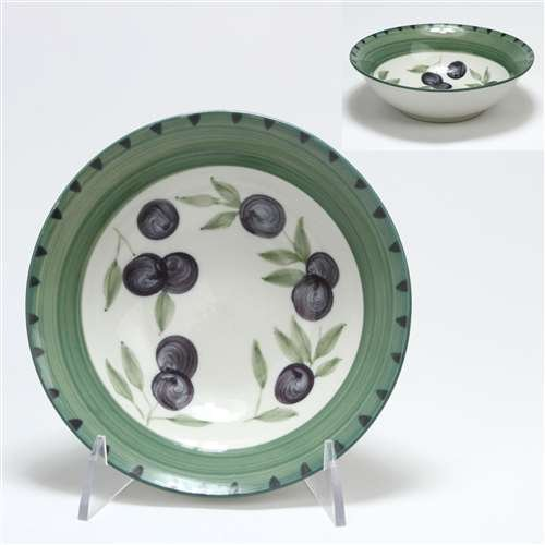 Olive Garden by Tabletops Unlimited, Stoneware Coupe Cereal Bowl - Garden Coupe Cereal Bowl