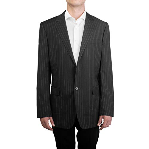 Used, Valentino Men's Two Button Fleece Wool Pinstripe Suit for sale  Delivered anywhere in USA