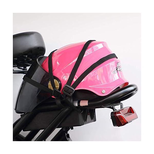 41PdzgdnvjL HUOHUOHUO Gepäcknetz Elastisch,Gepäcknetz Fahrrad,Gepäckspanner mit Haken Fahrrad,Spannseil mit Haken Verstellbar…