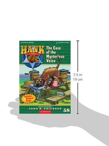 The Case of the Mysterious Voice (Hank the Cowdog (Audio))