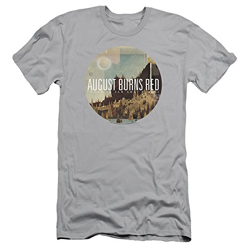 August Burns Red Far Away Places Slim Fit Unisex Adult T Shirt for Men and Women, Large
