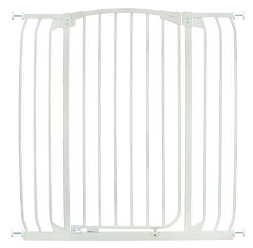 Dreambaby Chelsea Extra Tall and Wide Auto Close Security Gate in White