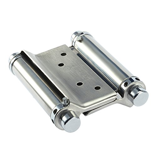 uxcell Freegate Saloon Cafe Bar Counter Doors 3 Inch Double Action Spring Hinges 2 Pcs - Action Spring Hinge