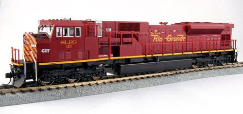 Kato USA Model Train Products EMD SD90/43MAC San Luis and Rio Grande Locomotive #115