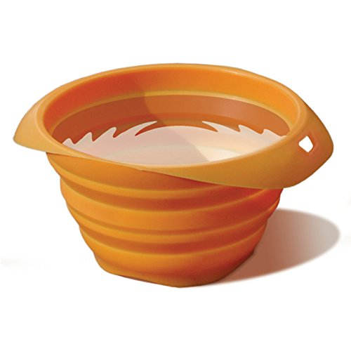 Kurgo Collaps Bowl Travel Orange