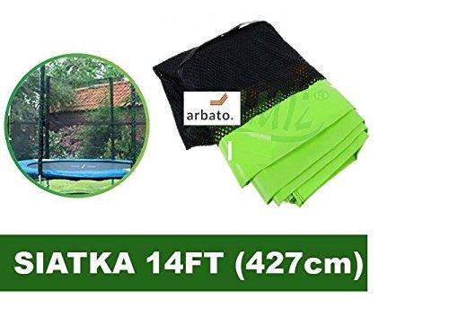 Gitter für Trampoline 14FT - 6 Grün Fields