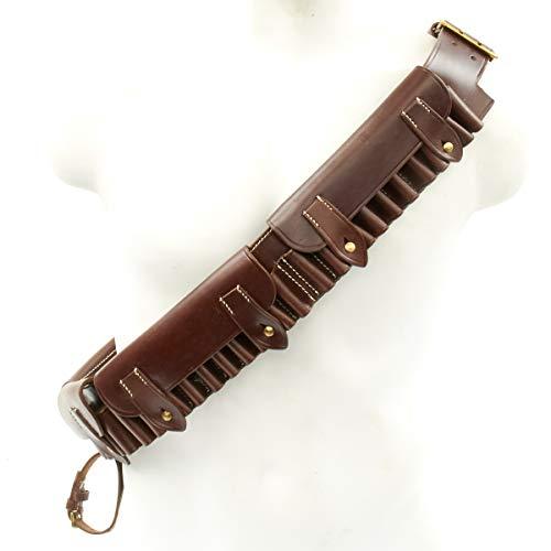 IMA British Victorian Era Martini-Henry Brown Leather Ammunition Bandolier