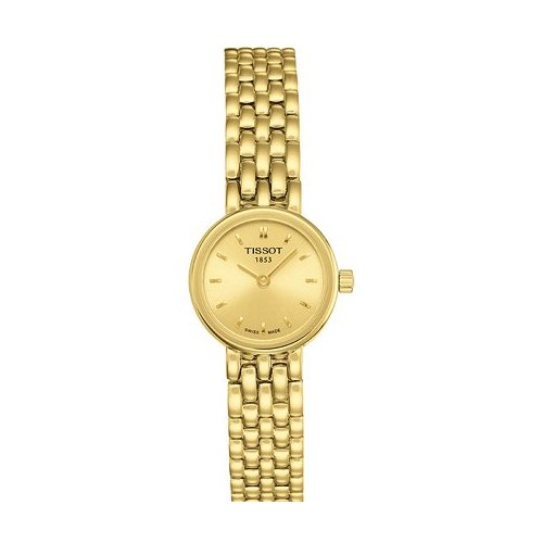 Lady's Watch TISSOT T0580093302100 GGold Platted