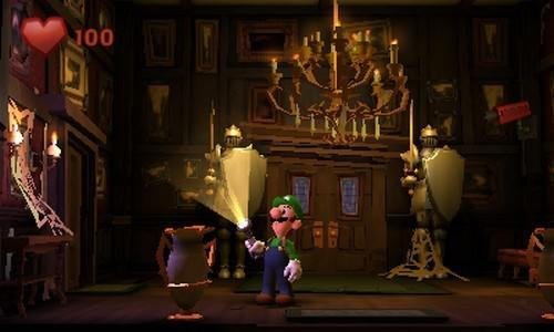 Nintendo 3DS console Black XL Luigi's Mansion 2