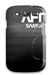 Flexible Tpu Back Case Cover For Galaxy S3 - Afro Samurai