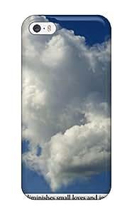 3124438K34368336 Hot Tpye Heart Clouds Case For Sam Sung Galaxy S5 Mini Cover