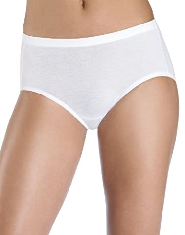 Hanes Women's Comfortsoft Waisband Low Rise Briefs,(3-Pack)size 7-Assorted