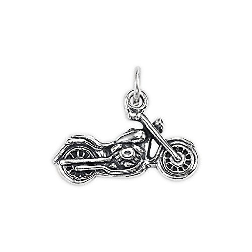 Sterling Silver Motorcycle - 9