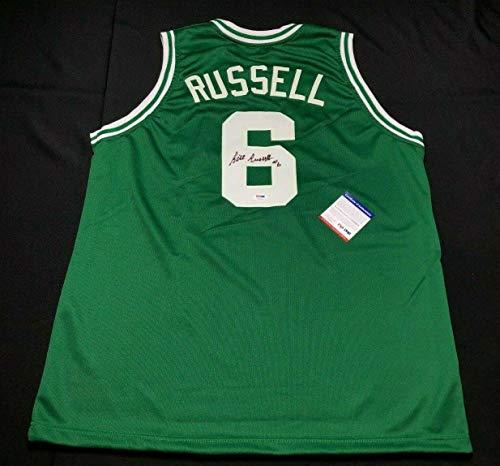 - Bill Russell Autographed Jersey - Boston Celtics Basketball 7A32903 - PSA/DNA Certified - Autographed NBA Jerseys